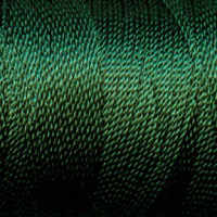 Tiny Twisted Cord - Green Olive Dark