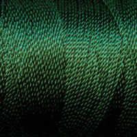 Tiny Twisted Cord - Green Olive Dark