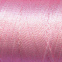 Tiny Twisted Cord - Pink Pastel