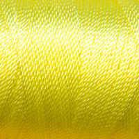 Tiny Twisted Cord - Yellow Dark