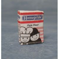 Homepride Plain Flour packet.