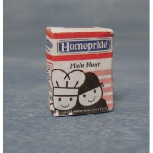 Homepride Plain Flour packet.