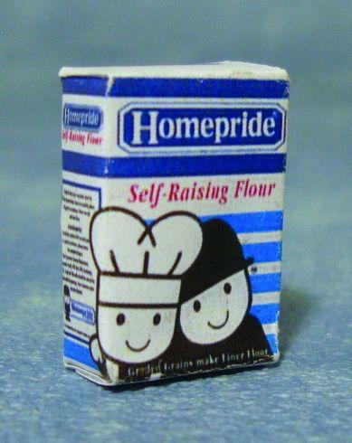 Homepride Self Raising Flour packet.
