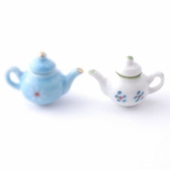 Modern Tea Pot - White.