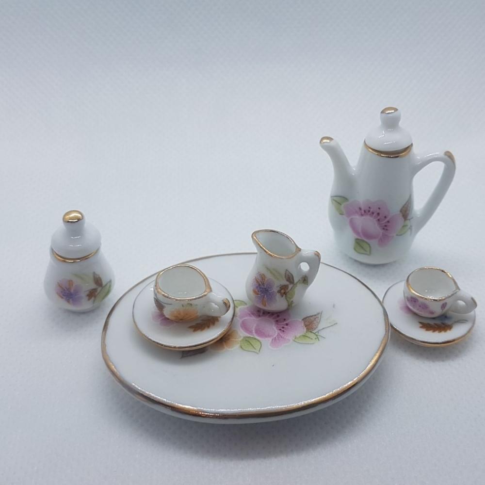 Coffee set - floral