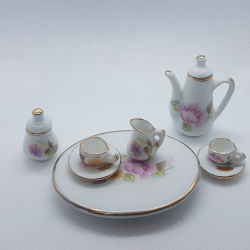 Coffee set - floral