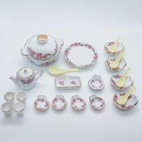 Tableware, Pink Rose