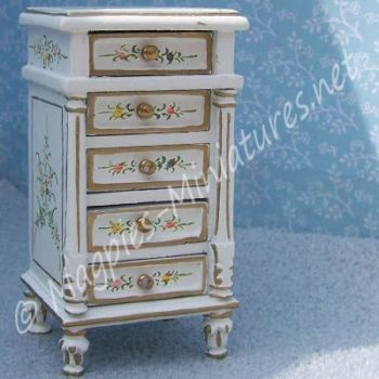 Highly Detailed Bedside Cabinet