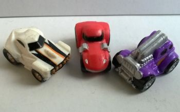 Set of three cars