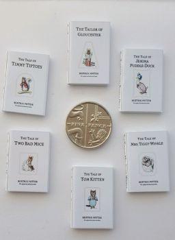 6 x BEATRIX POTTER BOOKS