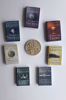 7 x GAMES OF THRONES BOOKS