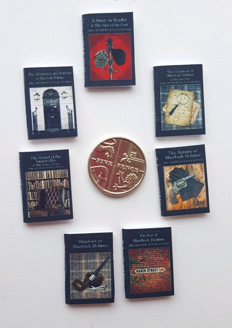 SHERLOCK HOLMES BOOKS X 7