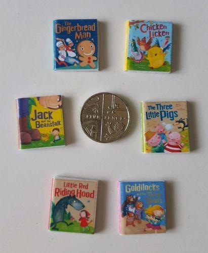 6 x FAIRY TALE BOOKS