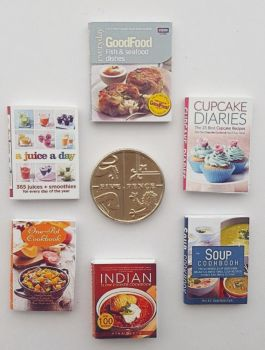 6 x COOKERY BOOKS