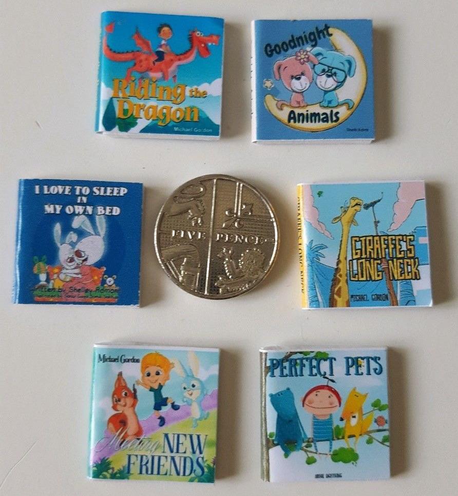 6 X CHILDREN'S BEDTIME STORY BOOKS