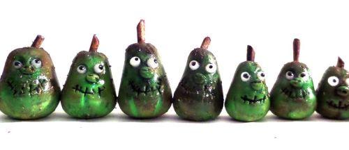 Handmade Green Pumpkin