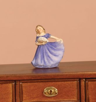 Ornament - Lady in Blue