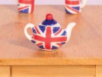 Union Jack Tea Pot