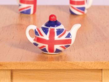 Union Jack Tea Pot