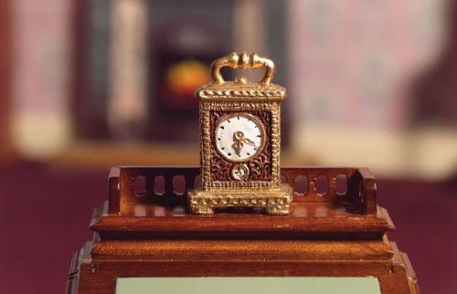 'Gold' Carriage Clock