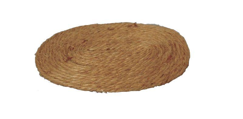 9cm Oval Rush Mat