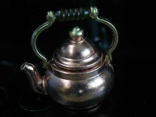 Large Copper Kettle - removable lid