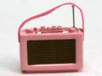 Pink Transistor  Radio