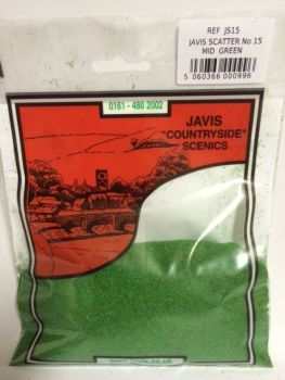 JAVIS SCATTER NO.15 MID GREEN 12s