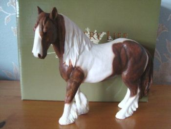 Brown and White Gypsy Cob Horse