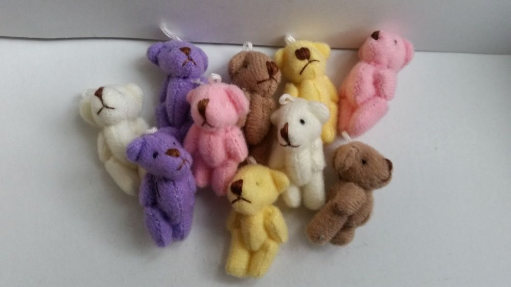 Colourful Teddy Bear - Colours to choose from