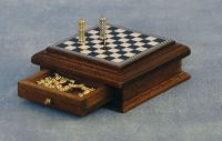 1/12 scale Deluxe Chess Set and Storage box