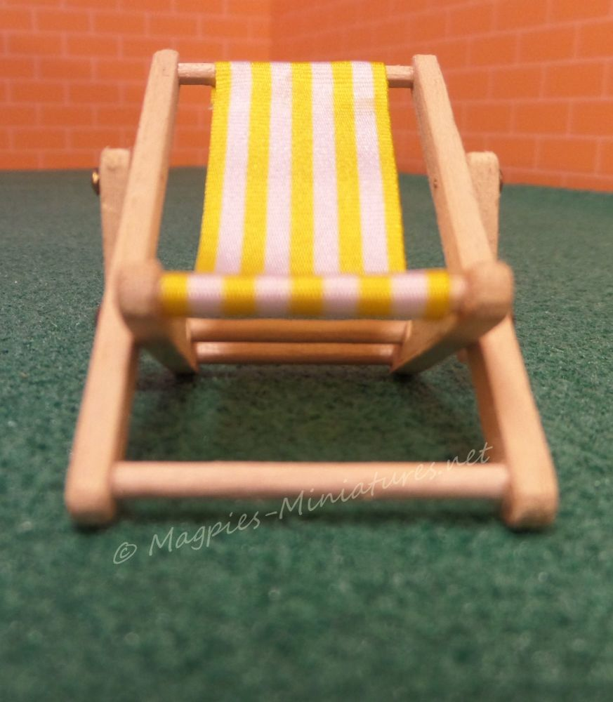 24th deck chair light yellow 2