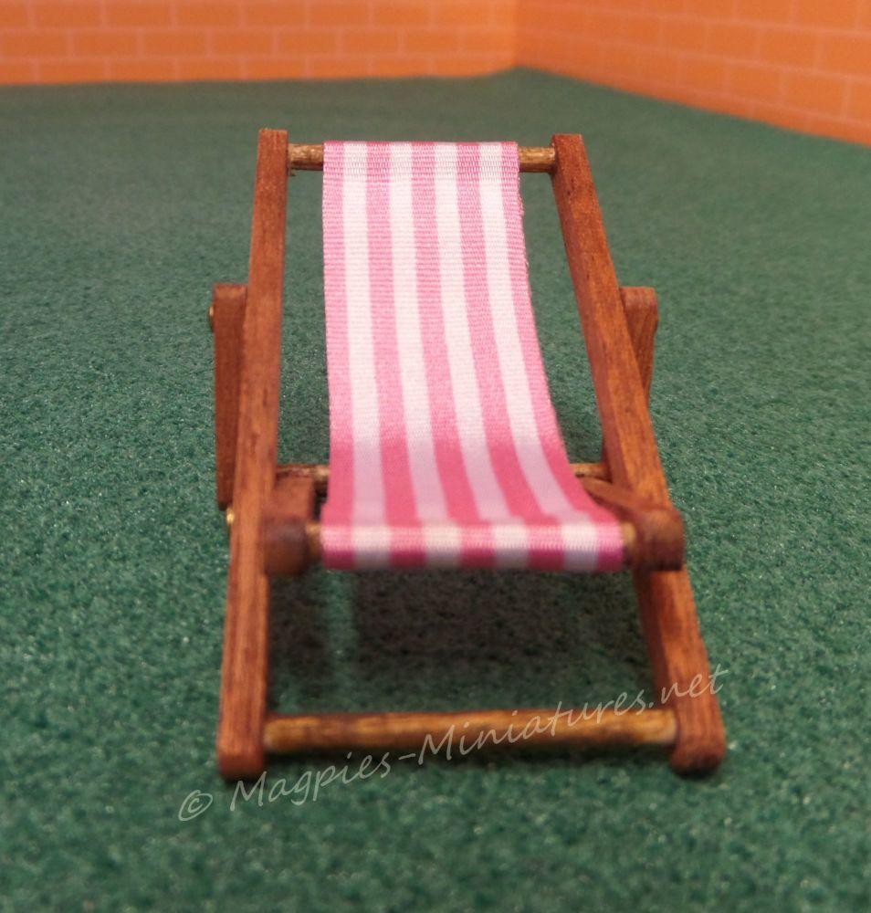 24th deck chair dark pink1