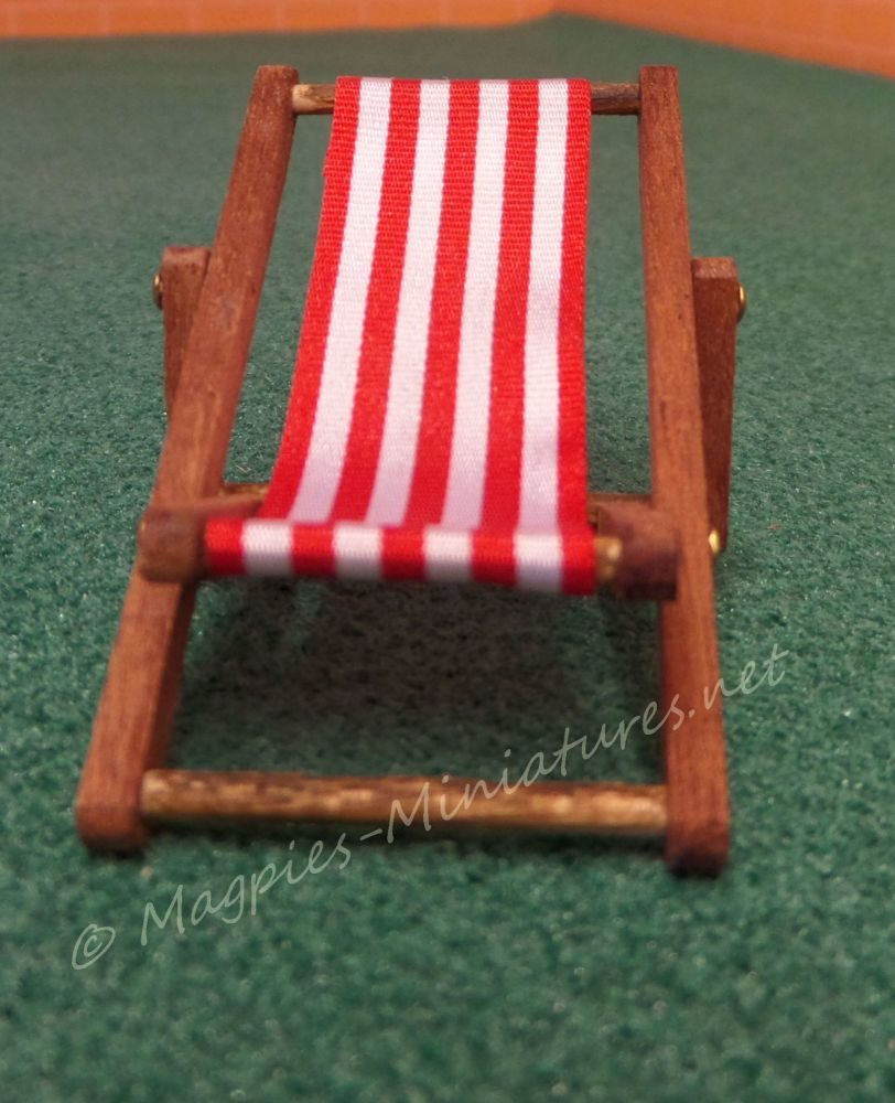 24th deck chair dark red 1