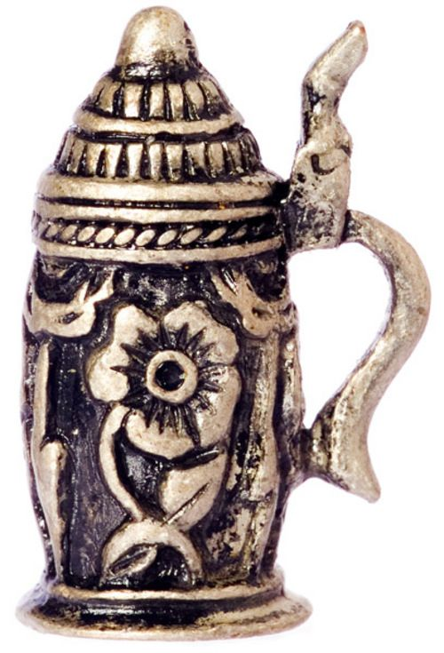 Silver Coloured metal Stein