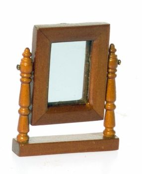 LINCOLN DRESSER MIRROR/WALNUT-24th Scale