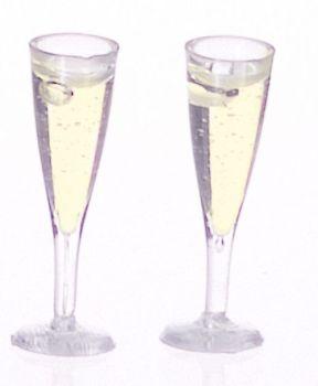 Set of 2 Champagne Flutes