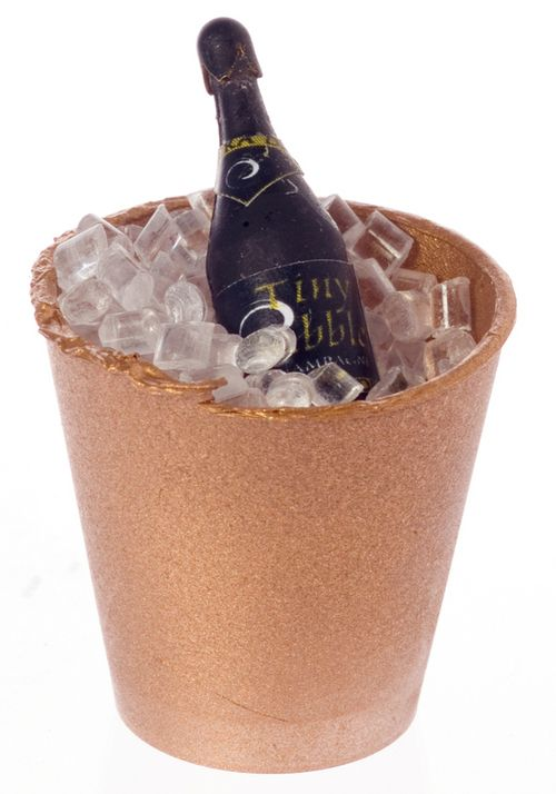CHAMPAGNE IN 'BRASS' BUCKET