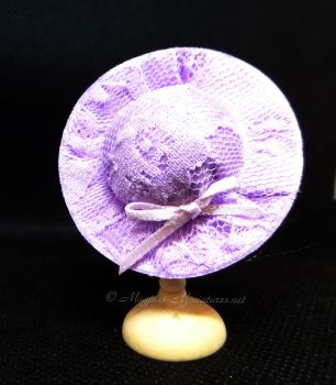 Ladies Summer Hat - Purple