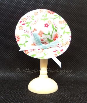 Ladies Summer Hat - Pink Floral