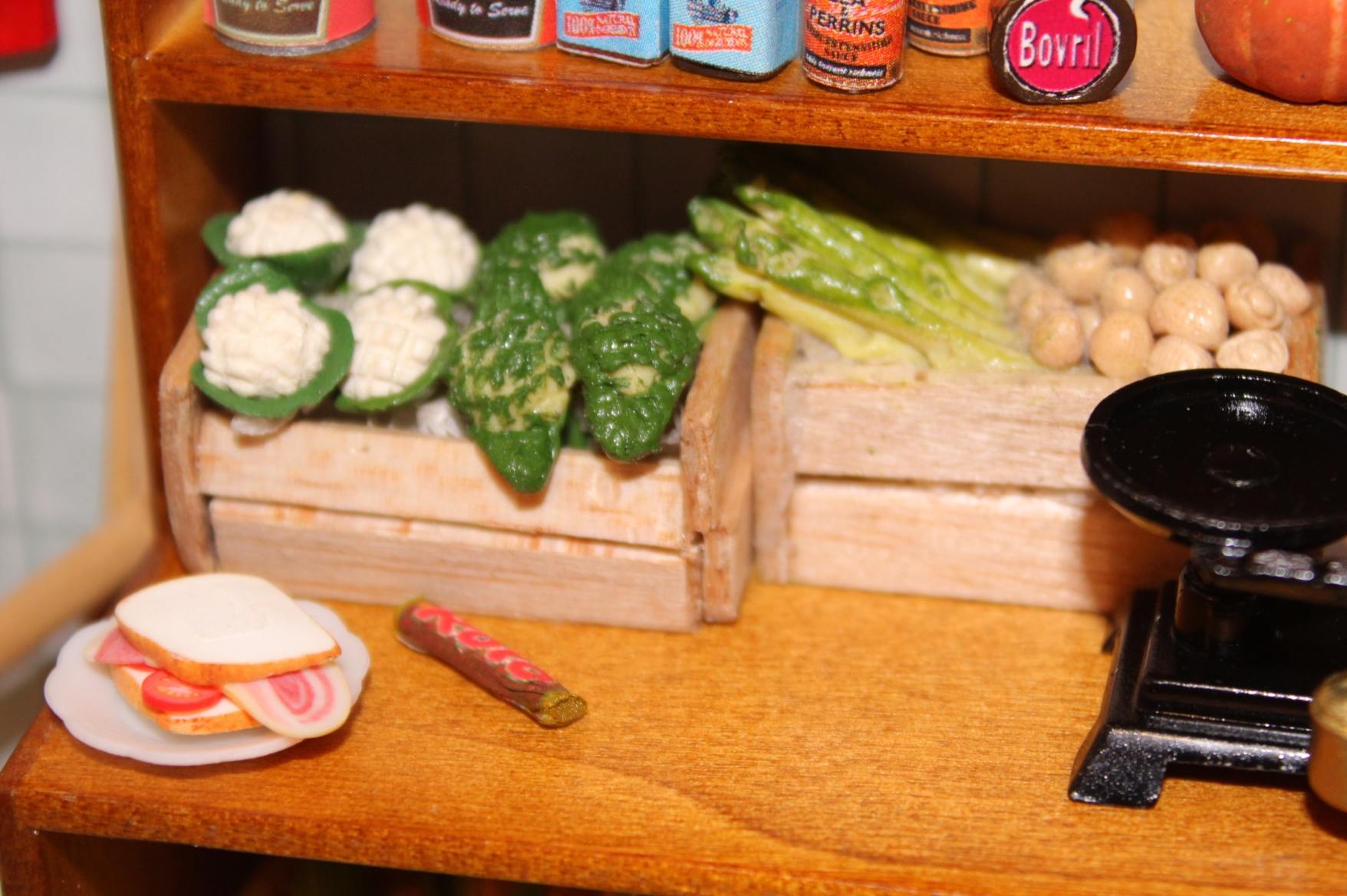 12t Scale Bacon Sandwich Dolls House food