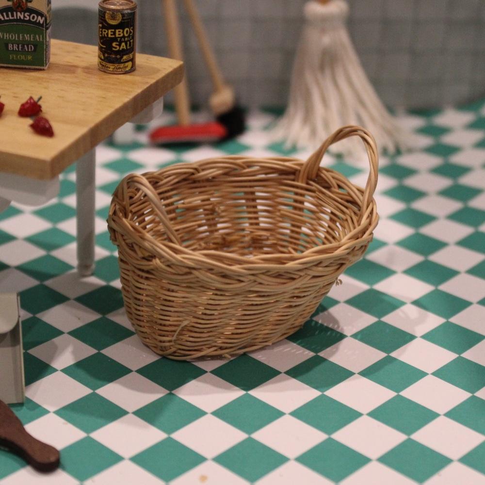 Miniature Oval Basket