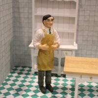 Man - Butler / Shopkeeper in Apron