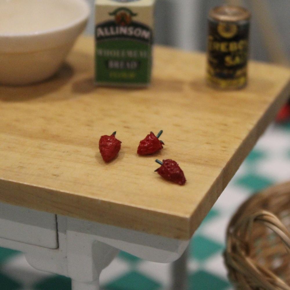 Six Strawberries