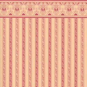 Regency Plum Stripe Wallpaper
