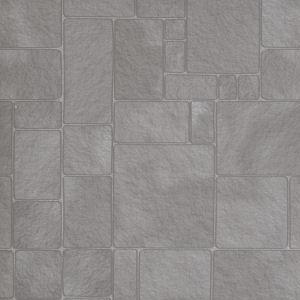 Wallpaper Worn Flagstones floorpaper
