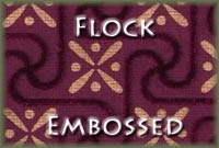 Flock Embossed Carpet