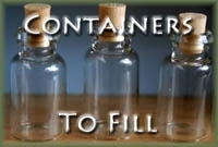 Containers to Fill