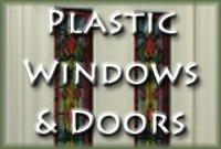 White Plastic Doors and Windows