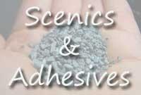 <!-- 032 -->Adhesives, Scenics